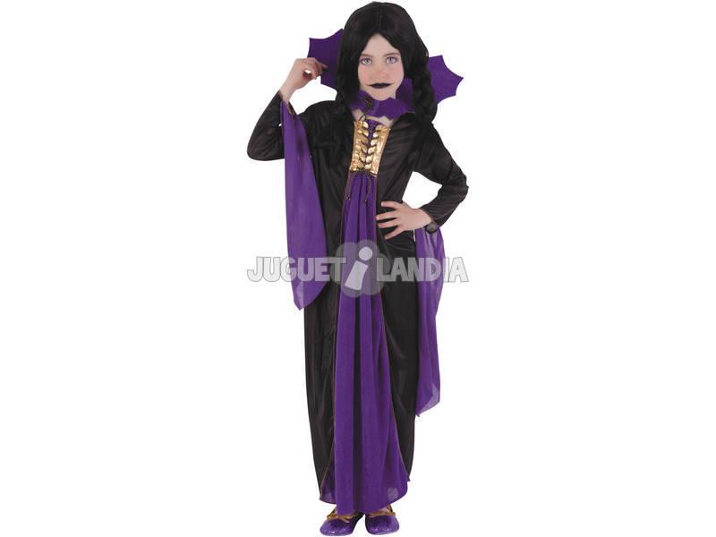 Disfraz Vampiresa Gótica Lila T-S Rubies S8295-S