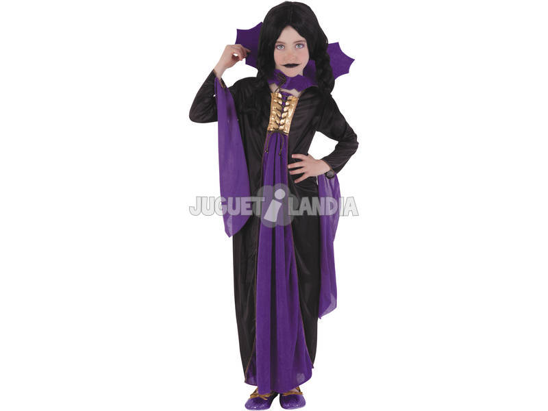 Disfarce de Vampira Gótica Lila Tamanho L Rubies S8295-L