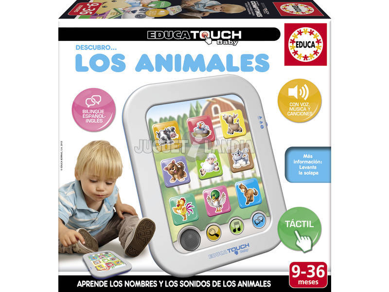 Educa Touch Baby Scopro Gli Animali