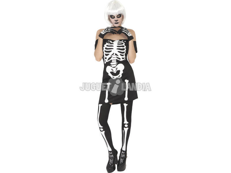 Disfraz Adulto Miss Skeleton Rubies S8357