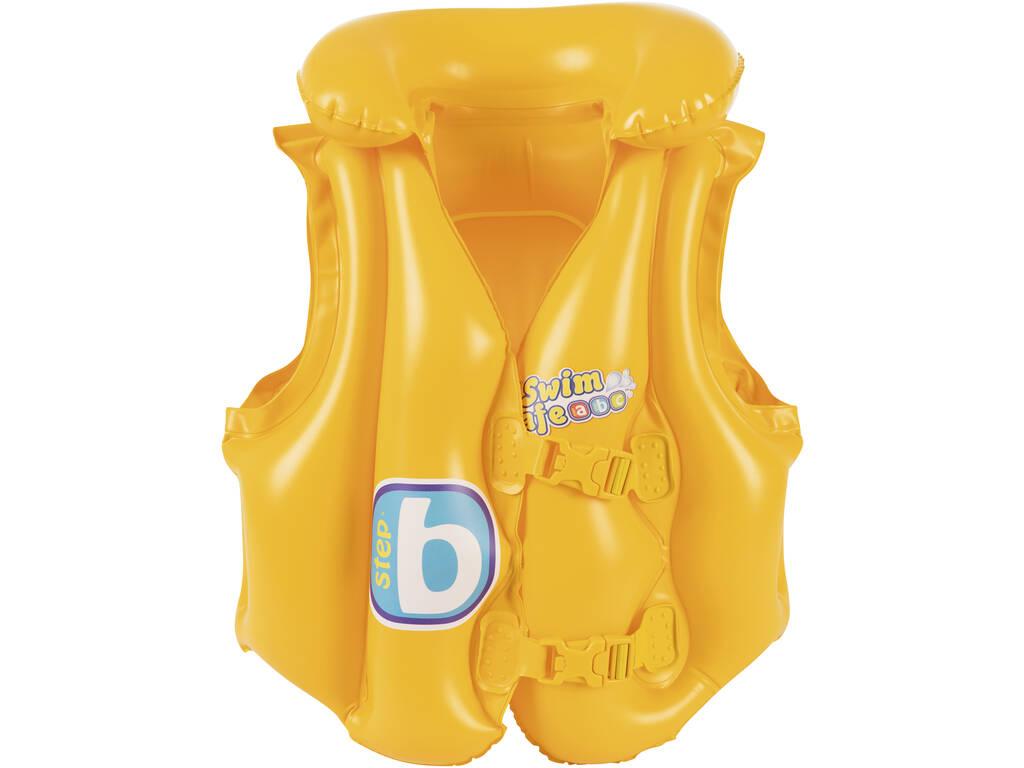 Salvagente Giubotto Gonfiabile 51X46 cm Safe Step B Bestway 32034