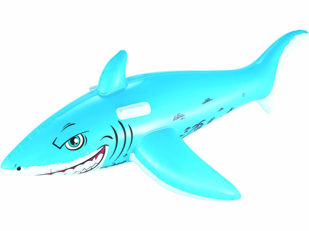 Tubarão Branco Insuflável 183x102 cm