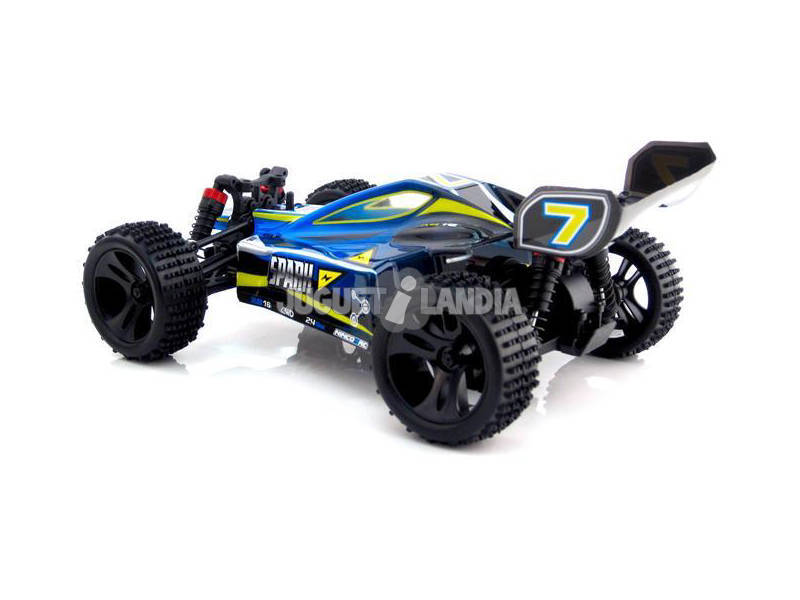 Radio Control 1:16 Spark Blue Buggy XB16 2.4G Ninco NH93051