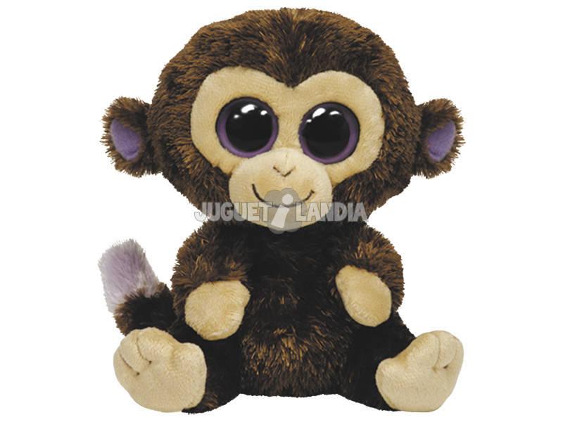 Brinquedo De Pelúcia Macaco De Coco Marrom
