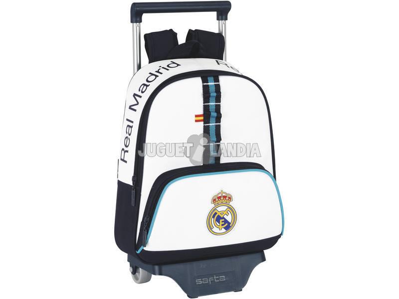 Real Madrid mochila infantil con ruedas