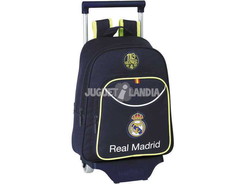 Real Madrid Mochila Infantil con Ruedas 2ª Equipac