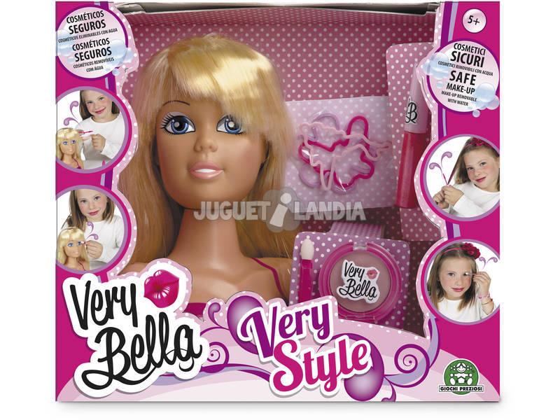 Very Bella very style cabeza a maquillar