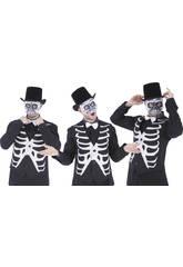 imagen Máscara Esqueleto Media Cara Rubies S5295