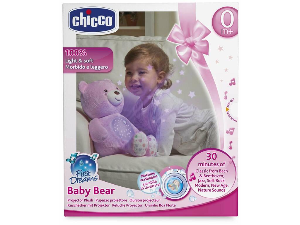 Projector Baby Bear Rosa
