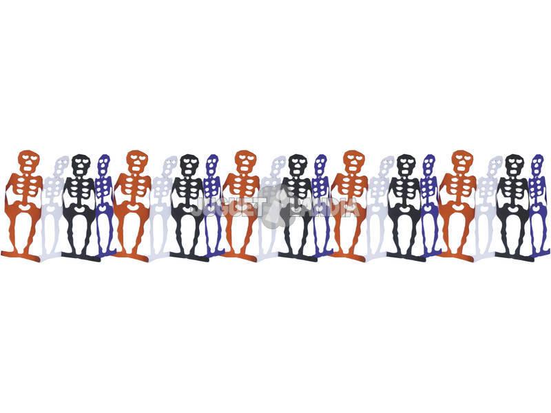 Guirnalda Esqueletos 4 m. Rubies S4326