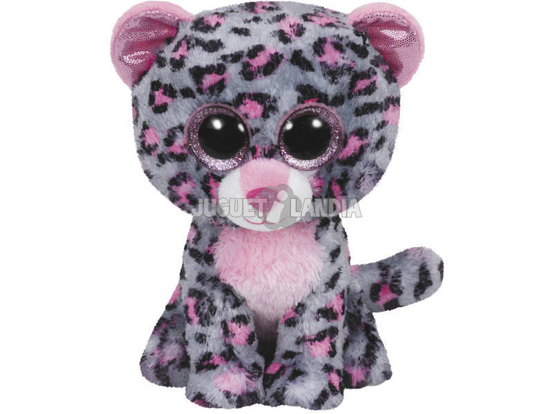 Leopardo cinza Tasha Soft Toy
