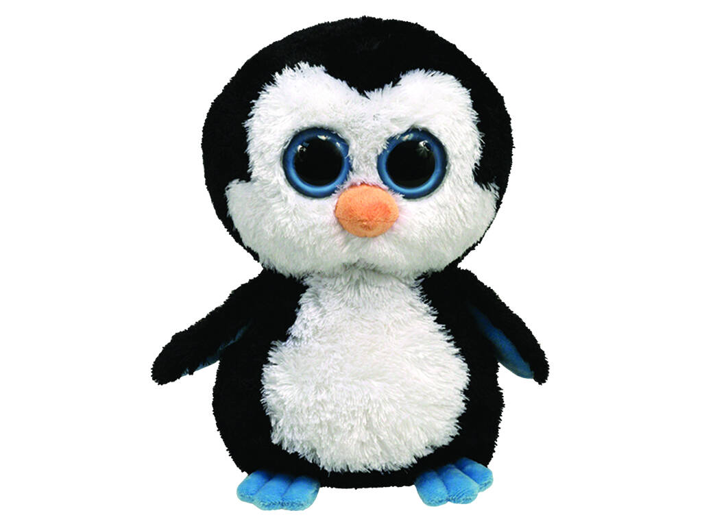Peluche Mediano Waddles Pingüino