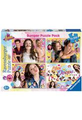 Puzzle Soy Luna Bumper Pack 4x100 pièces