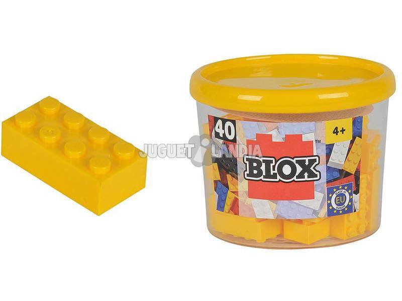 Blox Frasco com 40 Blocos Amarelos