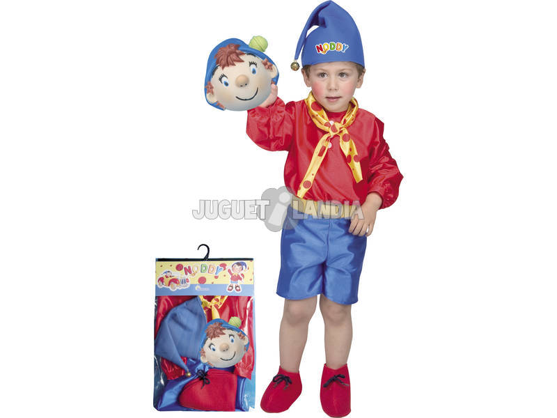 Disfraz Infantil Noddy Niño Talla S