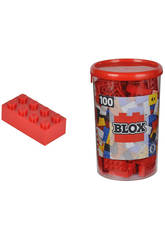 Blox Pot Avec 100 Blocs Rouges