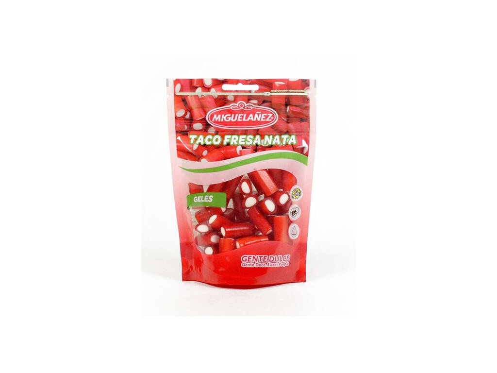 Doypack Taco Crema di Fragole di 165 gr. Miguelañez 634030