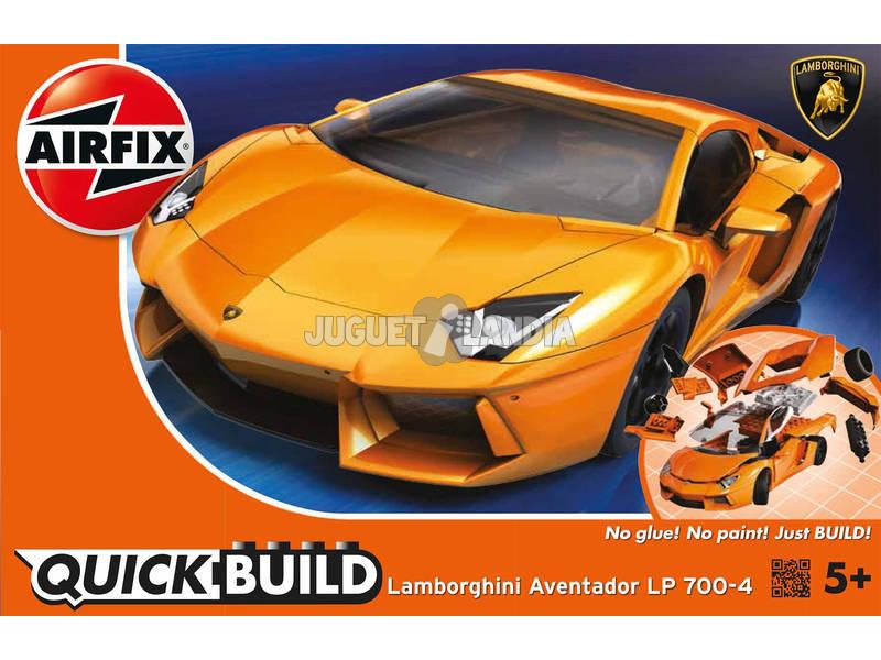 Quick Build Lamborghini Aventador