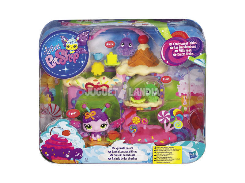 Littlest pet shop palacio de las chuches