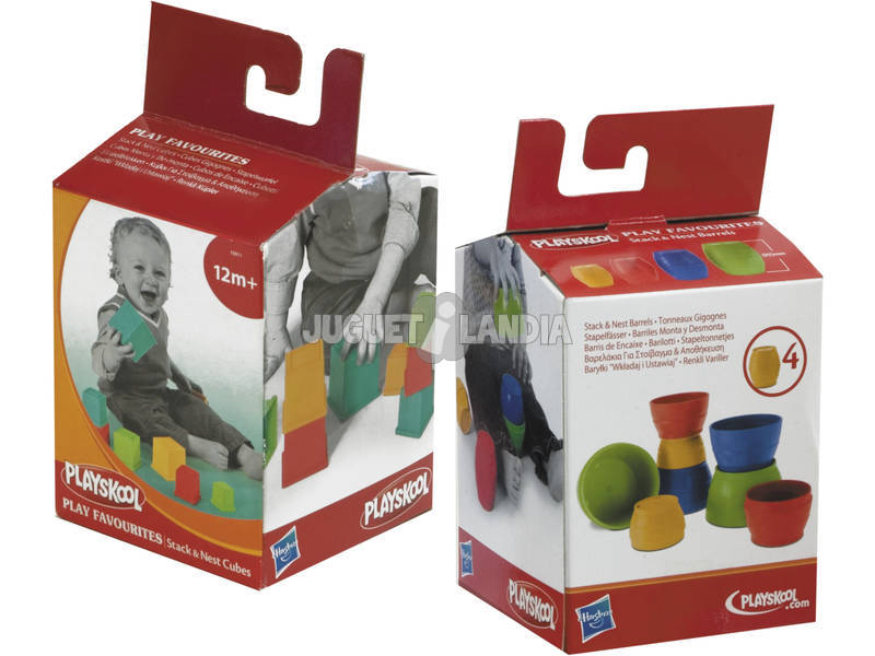 Playskool barrilitos y cubitos