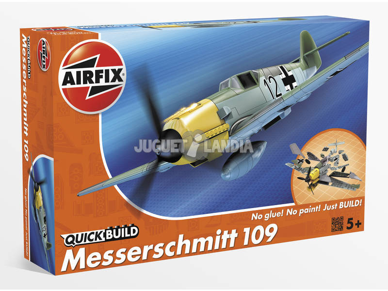 Quick Build Avião Messerschmitt 109e