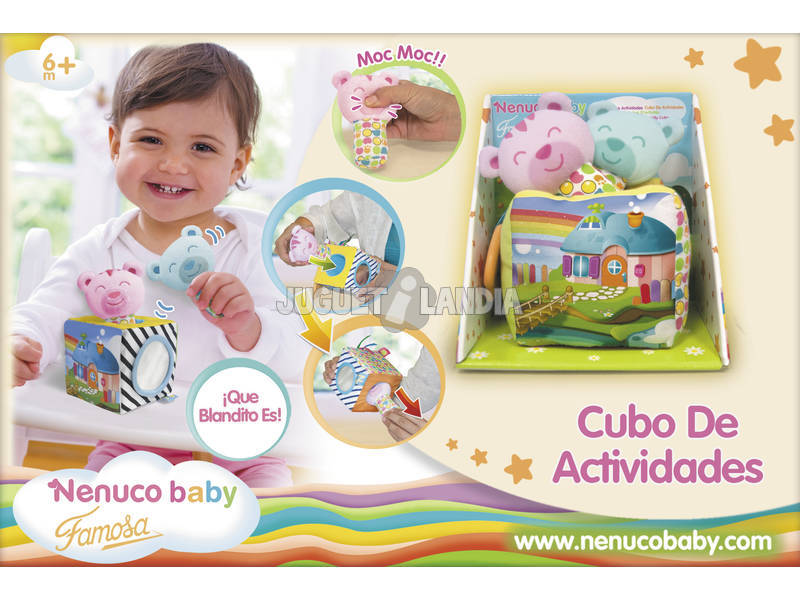 Nenuco Baby Cubo delle Attivitá