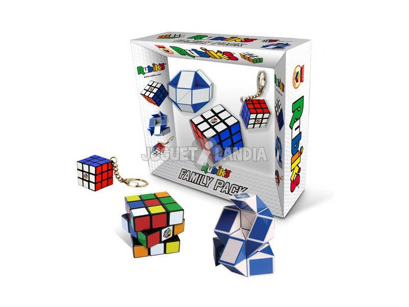 acheter cube rubik 39 s pack famillial juguetilandia. Black Bedroom Furniture Sets. Home Design Ideas