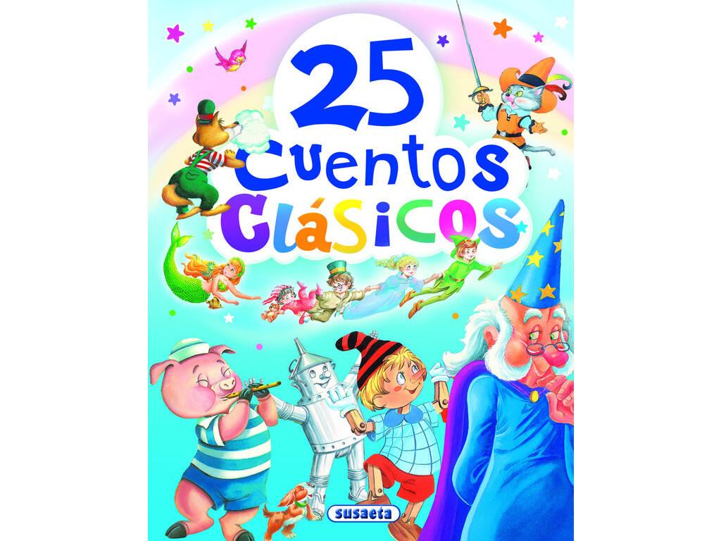 Libro 25 Cuentos Clásicos Susaeta S2003002