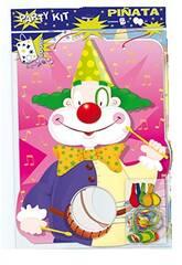 Piñata de Clown avec Ballons Globolandia 5311