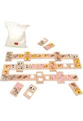 Domino Topycolor Legno Diset 50263