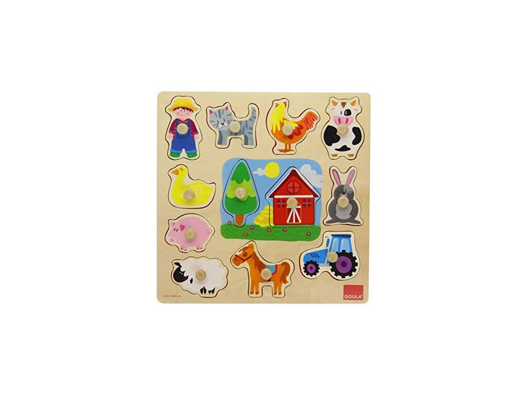 Goula Puzzle Profili Fattoria Diset 53025