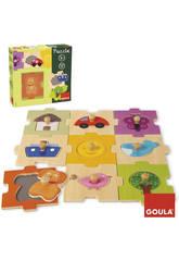 Puzzle Intercambiable 18 piezas