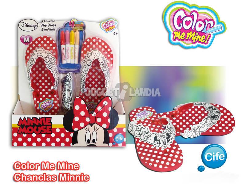 Color me mine chanclas Minnie