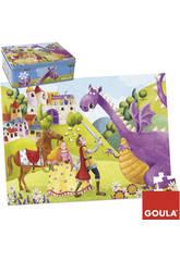 Puzzle 54 Piezas Principe y Dragon