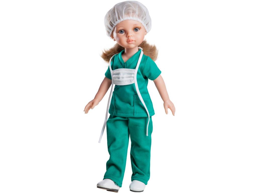 Boneca 32 cm Carla Enfermeira Amigas Hobbies
