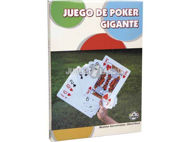 Cartas de Poker Gigantes 260x370 cm.