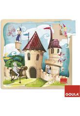 Puzzle Castillo 16 piezas