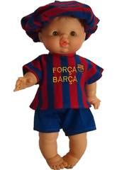 Puppe 43 cm Gordi Junge Barça