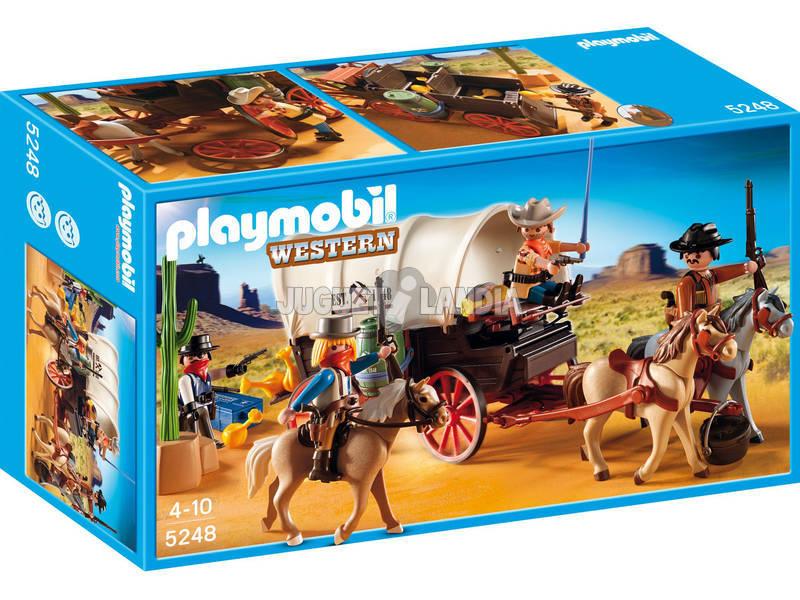Playmobil caravana con bandidos