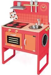 Cuisine avec machine à laver