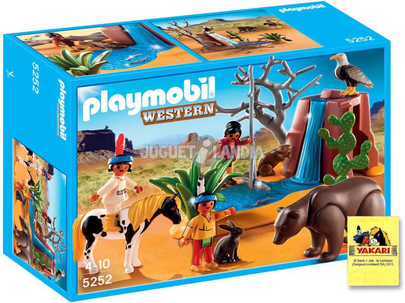 Playmobil Enfants indiens avec animaux