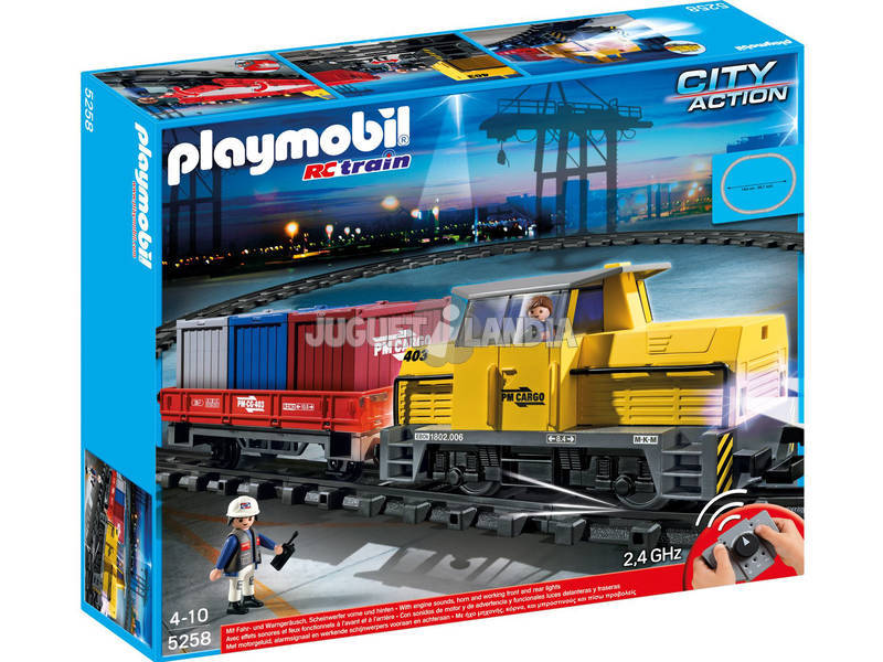 Playmobil R/C Tren de mercancias