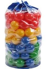 imagen Bolsa 100 Bolas 7cm de Colores