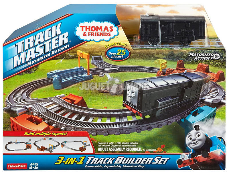 Thomas y Sus Amigos Circuito con Locomotora