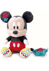 Disney Baby Mickey ou Minnie Peluche Musicale 24 cm