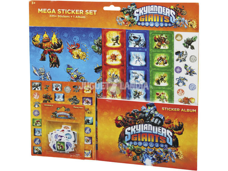 Skylanders mega sticker set