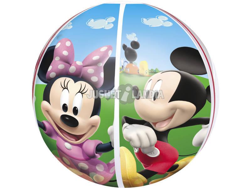Pelota Hinchable de 51 cm. Mickey Mouse Clubhouse Bestway 91001B