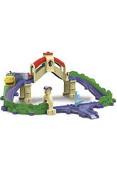 Chuggington Ensemble avec Pont et Tunnel