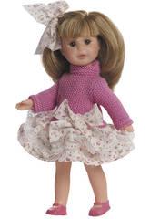 Muñeca Irene Rubia 22 cm Con Armario