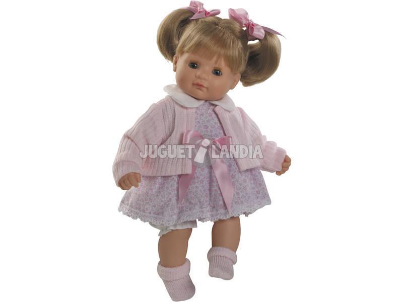 Muñeca Baby Shoes Rubia 34 cm.